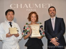 Girl Next Door Vocalist Chisa Attends Chaumet Paris Jewelry Event