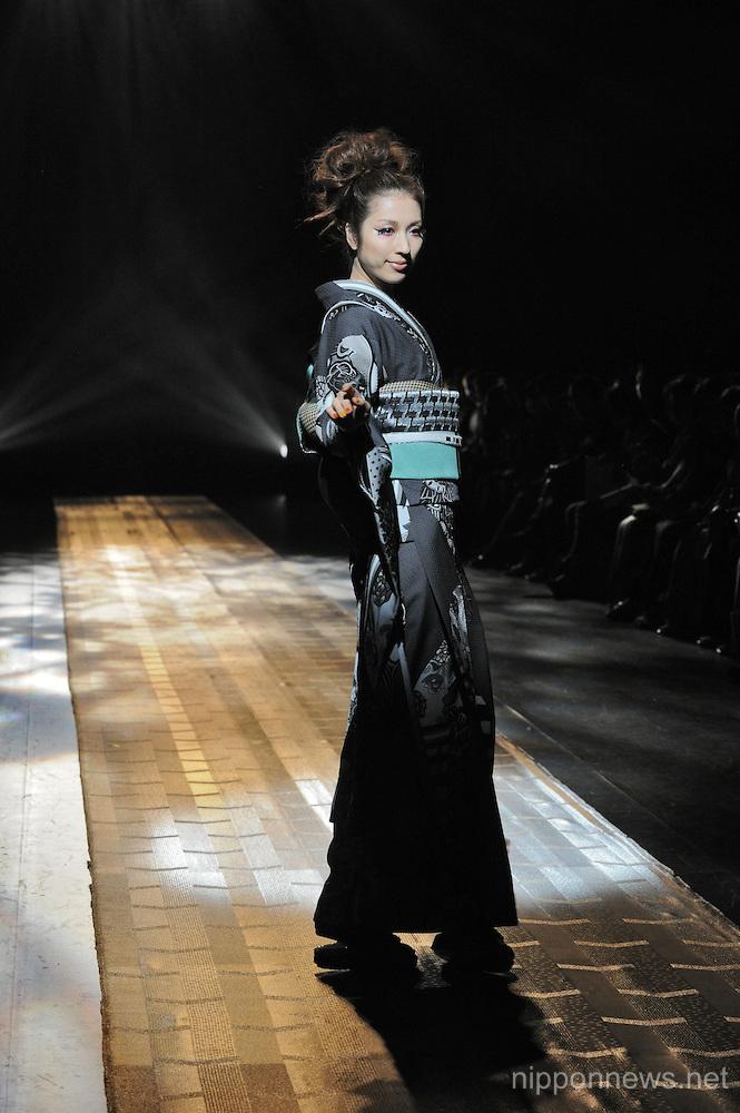 Tokyo Fashion Week 2013 - JOTARO SAITO Autumn/Winter 2013-14 Tokyo Collection Runway