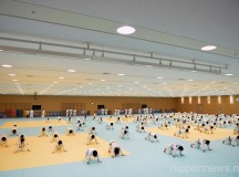 Japan Women's Judo Team Training Session
