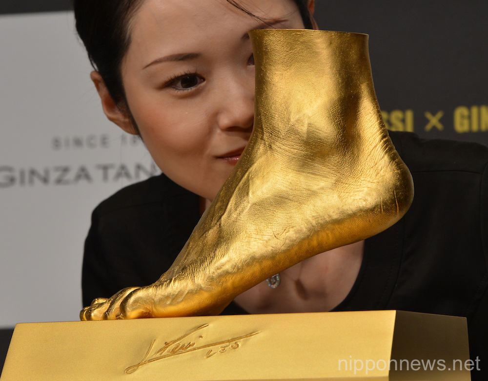 "Lionel Messi ""The Golden Foot"""