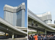 The Grand Prince Hotel Akasaka Demolition Work Continues