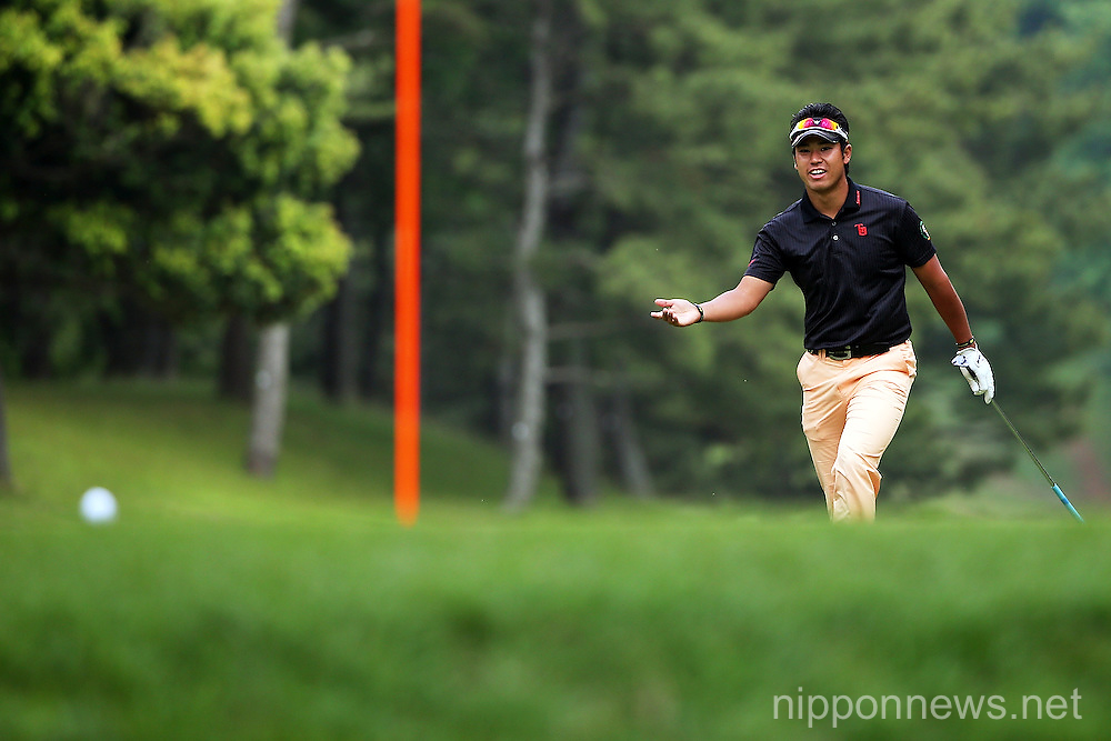 Hideki Matsuyama During the 81st PGA Championship Nissin Cup Noodle Cup 2013