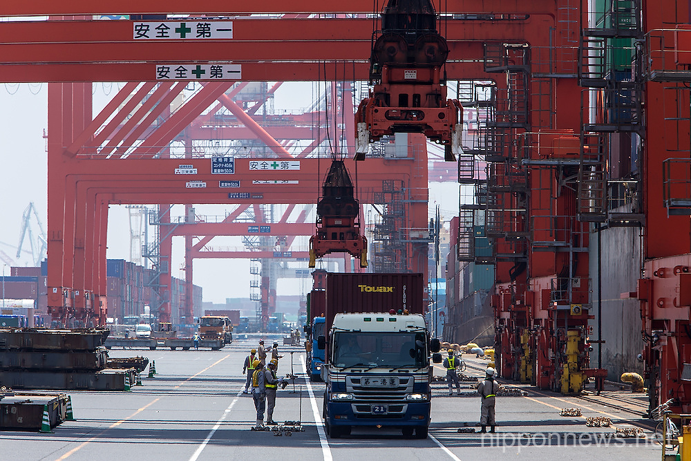 Japan Trade Deficit Record-High for April