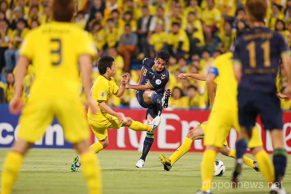 Football/Soccer: AFC Champions League - Kashiwa Reysol 3-2 Jeonbuk Hyundai Motors