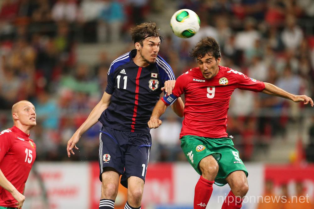 Football/Soccer: KIRIN Challenge Cup 2013 - Japan 0-2 Bulgaria