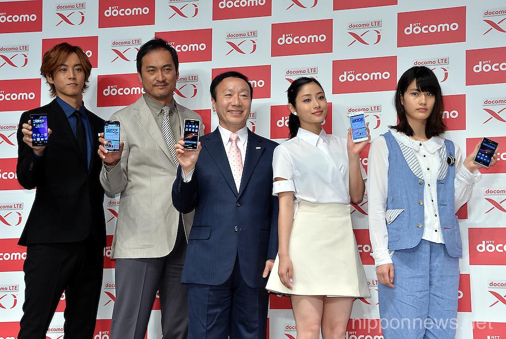 NTT Docomo new line up for Summer 2013