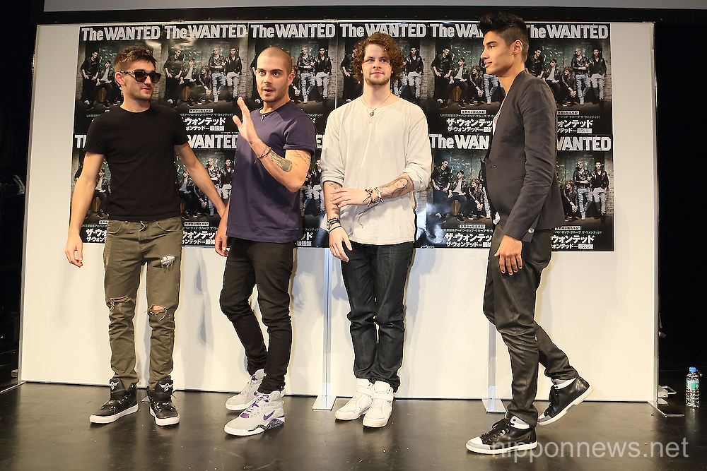 The Wanted Press Conference in Tokyo