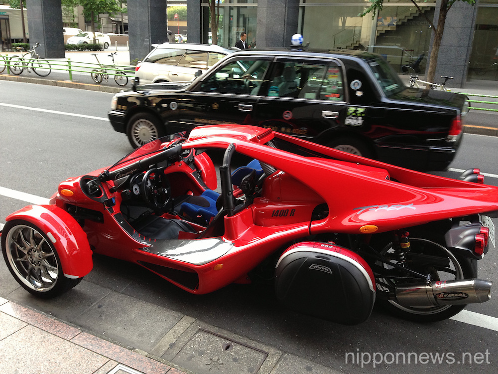 Campagna T-Rex Vehicle Spotted in Tokyo Nippon News | Editorial ...