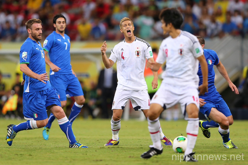 Football/Soccer: FIFA Confederations Cup Brazil 2013 Group A - Italy 4-3 Japan