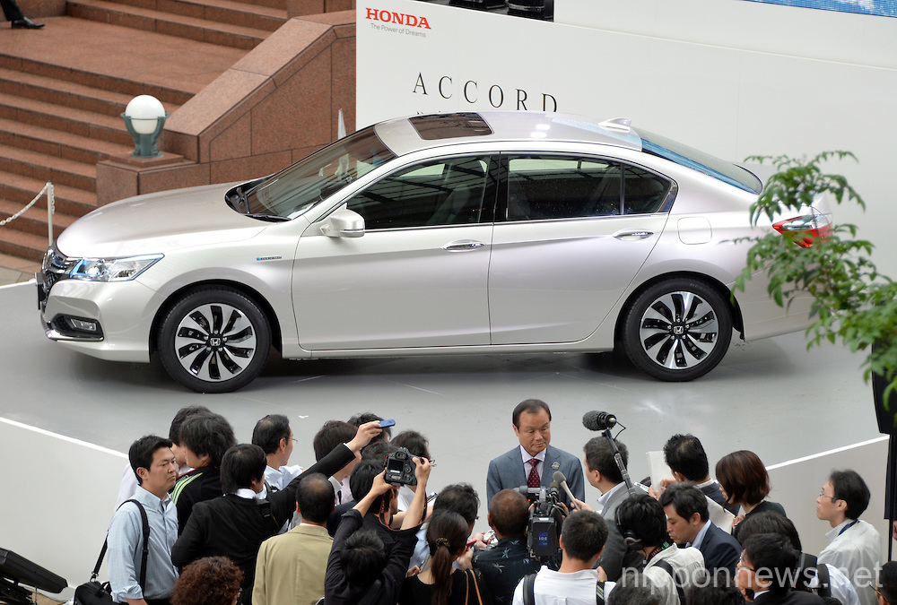 Honda Motor Co Introduces All New Accord Hybrid