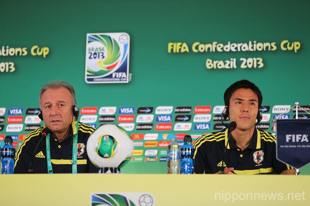 Football / Soccer: FIFA Confederations Cup Brazil 2013