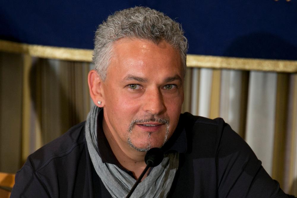 Italian Soccer Legend, Roberto Baggio at FCCJ