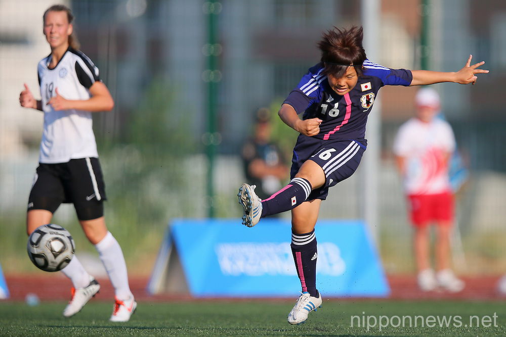 Football/Soccer: The 27th Summer Universiade 2013 Kazan Women's Group Competition W-5 - Japan 7-0 Estonia