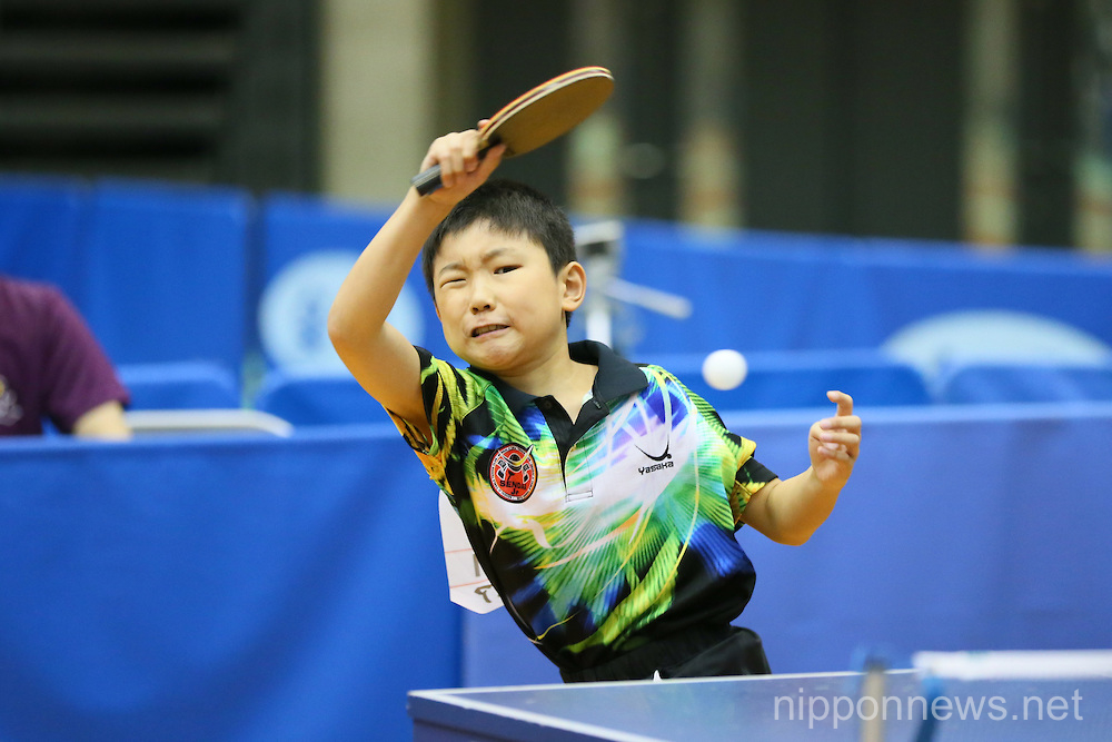 All Japan Table Tennis Championships – Hopes, Cub and Bambi class