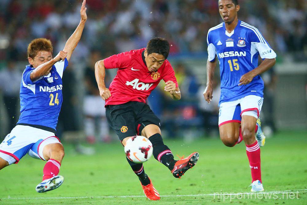 Football/Soccer: Manchester United tour 2013 - Yokohama F Marinos 3-2 Manchester United