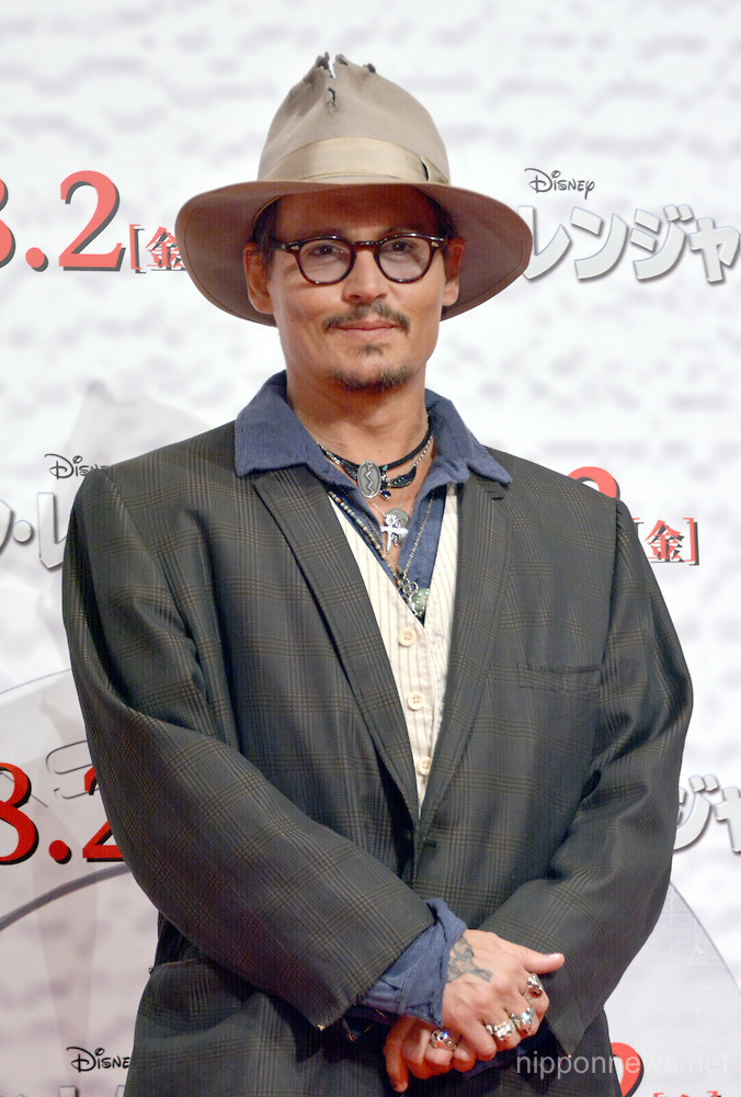 The Lone Ranger movie promotion in Tokyo