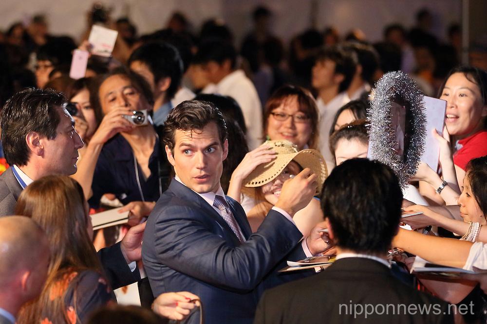 Man of steel Japan premiere in Tokyo