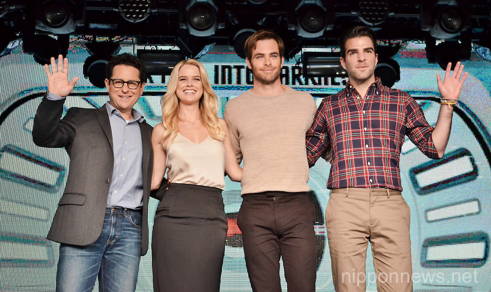 Star Trek Into Darkness press conference and premiere in Tokyo