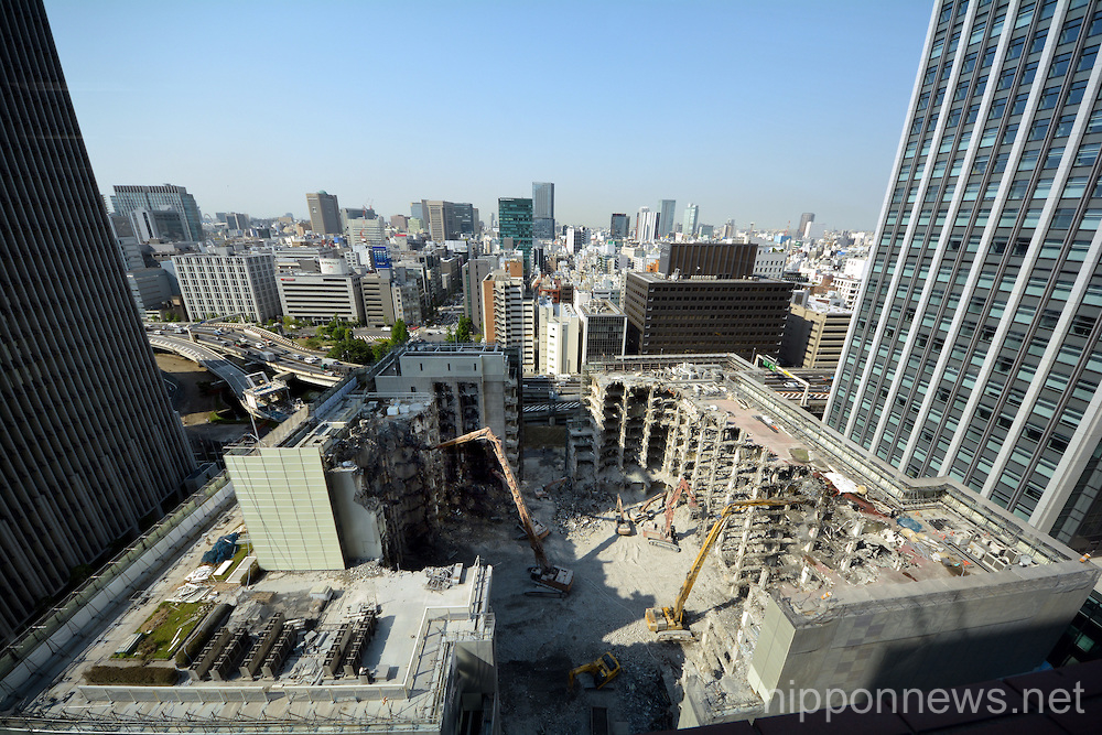 Redevelopment project of the Otemachi area
