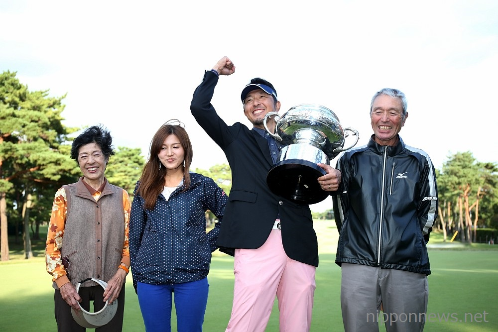 Masanori Kobayashi takes first major title at Japan Open Golf Championship 2013.