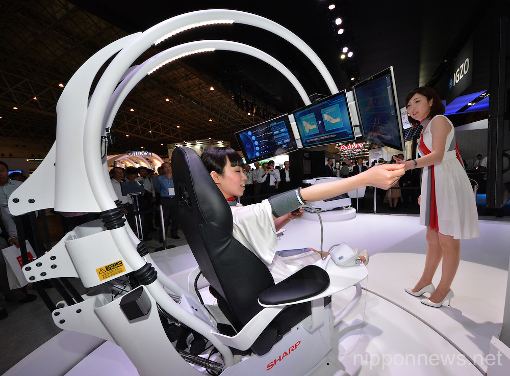 CEATEC IT & Electronics Exhibition Opens