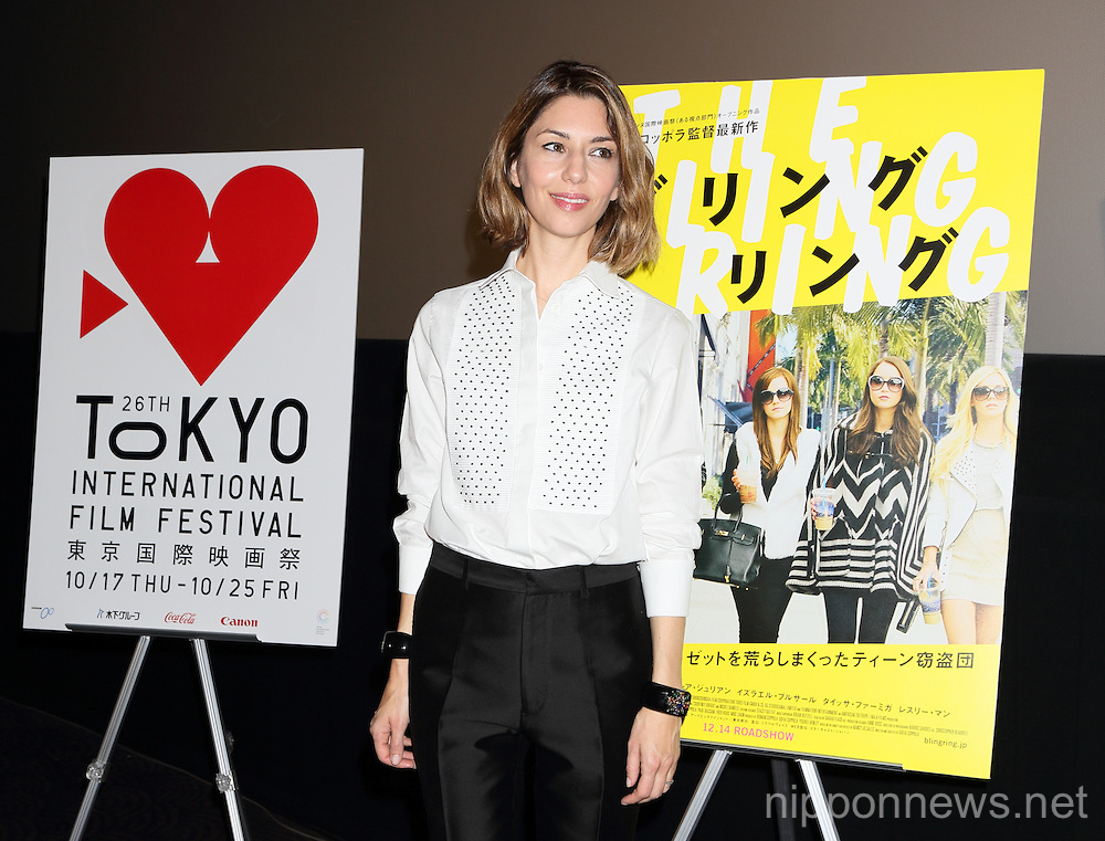 The Bling Ring - stage greeting in Tokyo