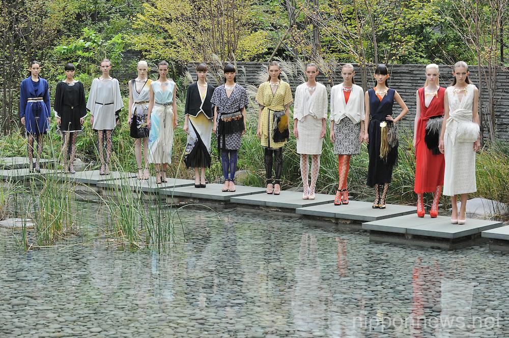 Mercedes Benz Fashion Week Tokyo 2014 S/S