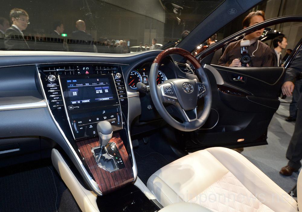 Lexus RX 2014 model presented in Tokyo