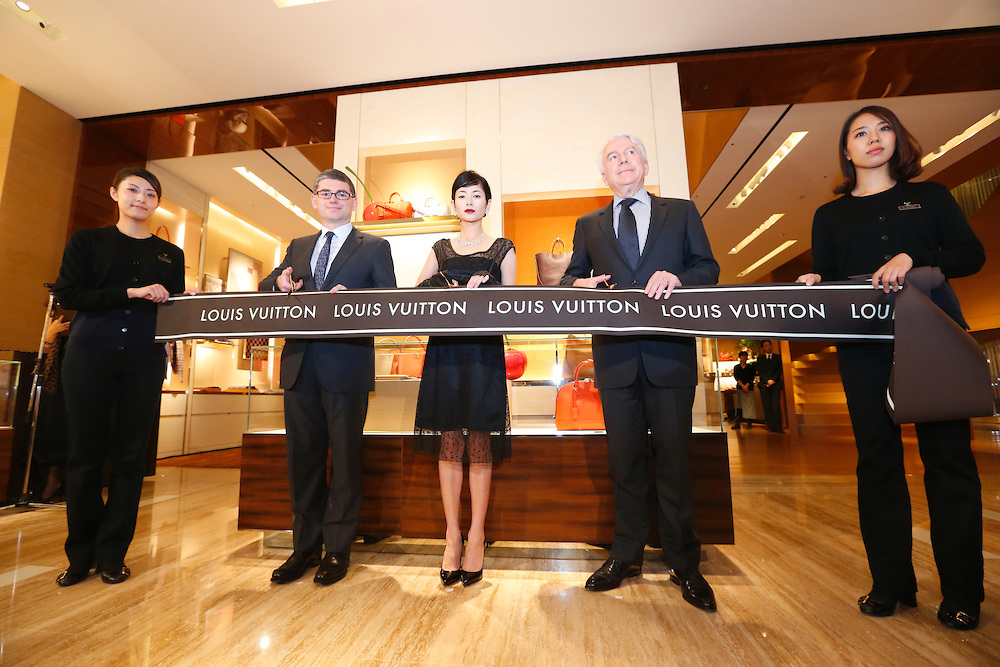 Louis Vuitton Shinjuku store opening ceremony