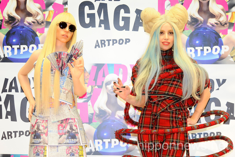 Lady Gaga Artpop Press Conference