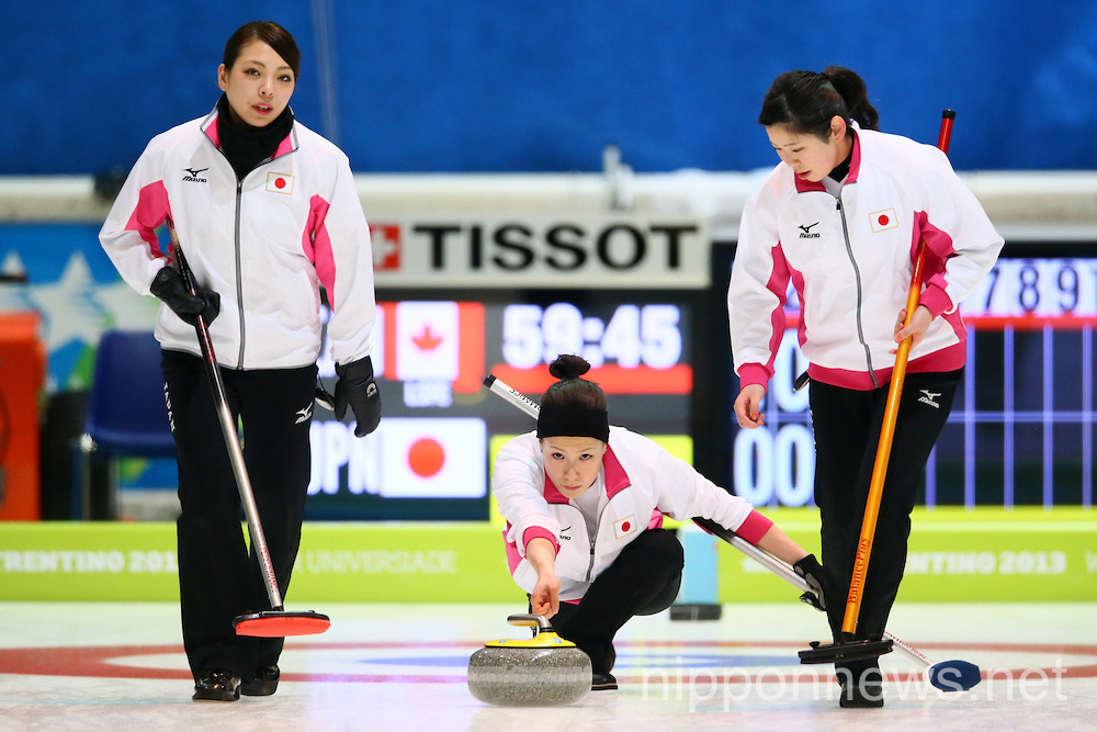 Curling: The 26th Winter Universiade Trentino 2013
