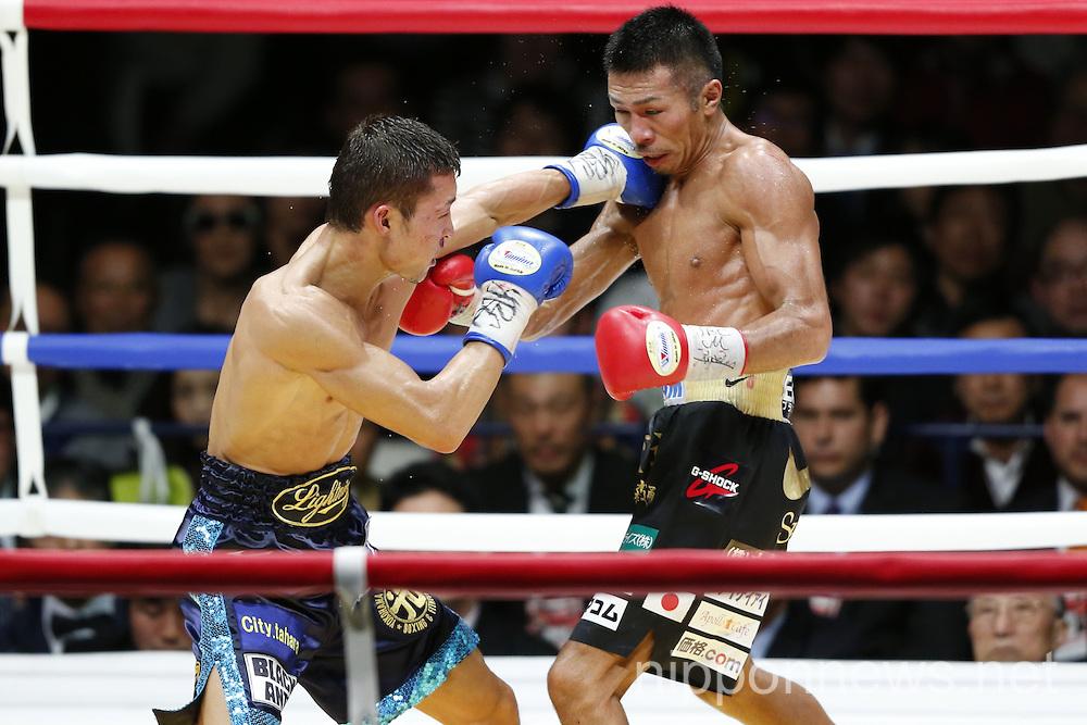 Boxing: WBA Super Featherweight Title - Takashi Uchiyama vs Daiki Kaneko