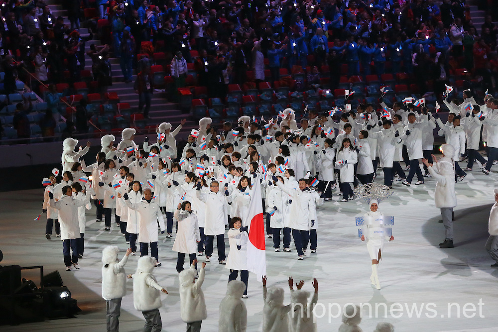 Opening Ceremony for The 2014 Olympic Winter Games