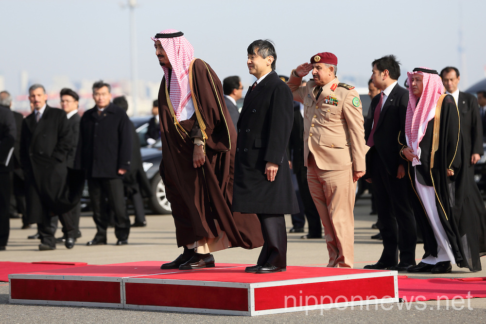 Crown Prince of the Kingdom of Saudi Arabia visits Japan