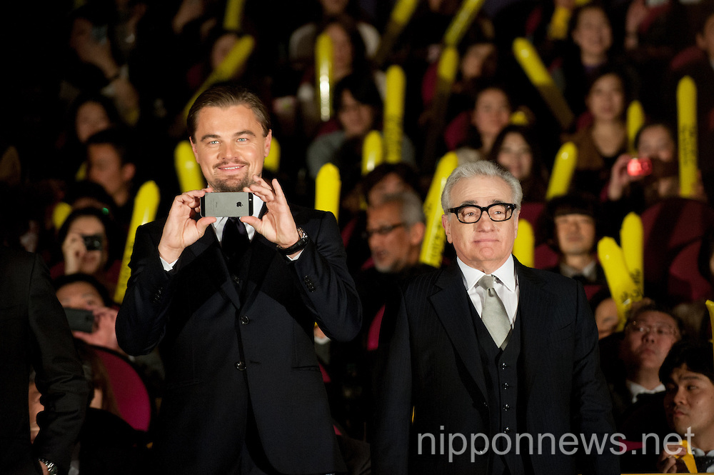 The Wolf of Wall Street Japan Premiere