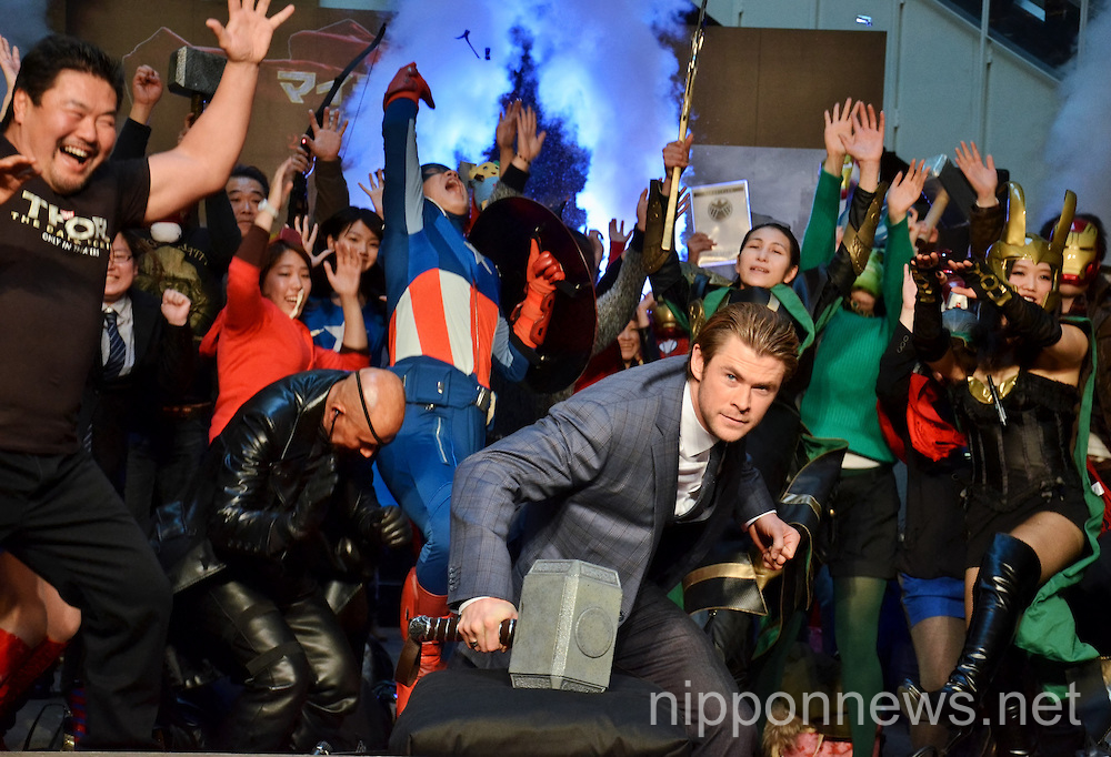 Thor: The Dark World - Japan Premiere