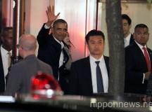 US President Barack Obama in Japan