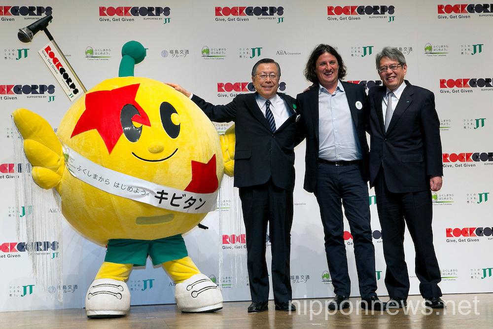 RockCrops Tokyo Press Conference