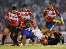 Rugby: Japan 33-14 Samoa