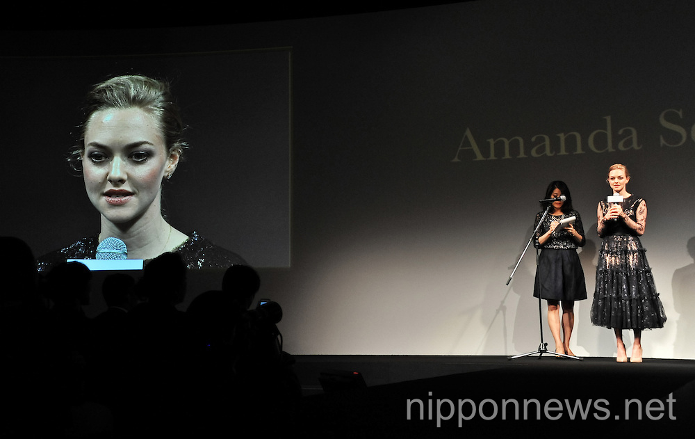 "Amanda Seyfried Attends ""Cle de Peau Beaute 2014"" of Shiseido"