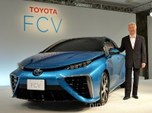 Toyota Progresses on Hydrogen Fuel Cell Vehicle Development