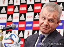 Press Conference of Japan's New National Soccer Team Coach Javier Aguirre