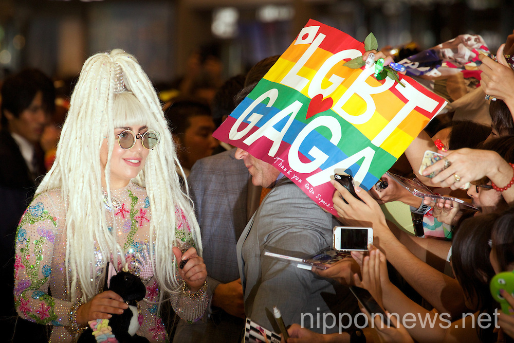 """Lady Gaga Arrives in Japan for """"Artrave: The Artpop Ball"""" Tour"""