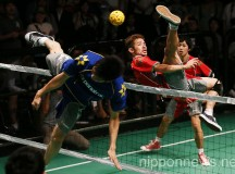 Sepaktakraw Game at Tsutaya O-EAST