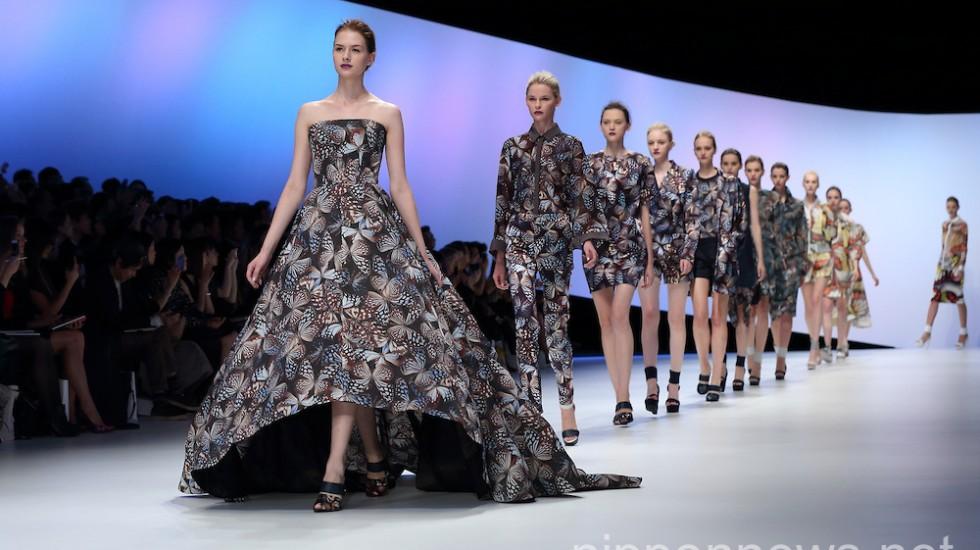 Hanae Mori – Mercedes-Benz Fashion Week Tokyo 2015 Spring/Summer