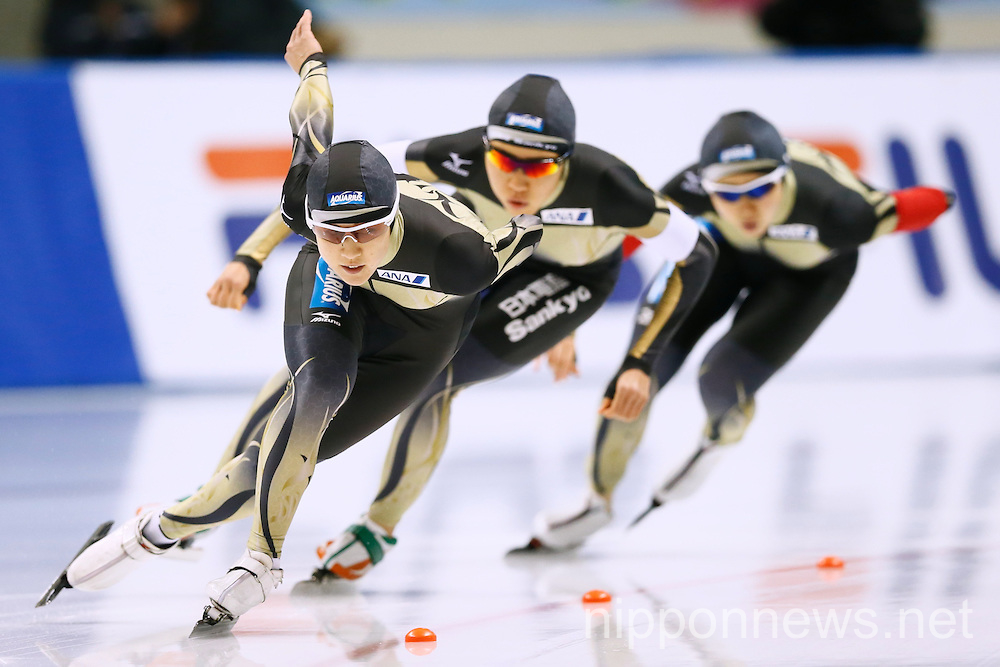 ISU World Cup Speed Skating 2014/15 in Obihiro Japan