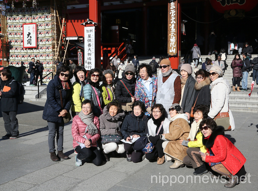 Number of Foreign Tourists Visiting Japan on the Rise