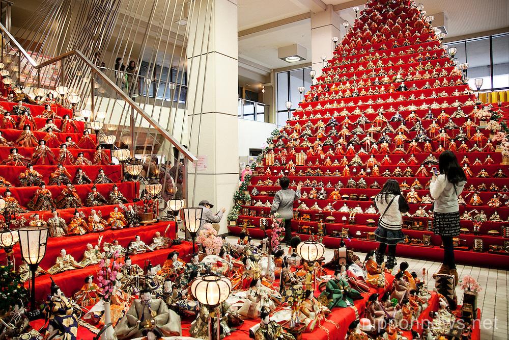 Hinamatsuri – Girl's Day Doll Pyramid