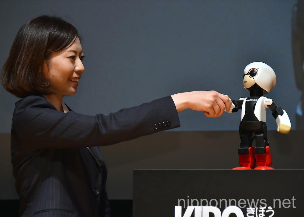 Astronaut Robot Kirobo receives Guiness World Records