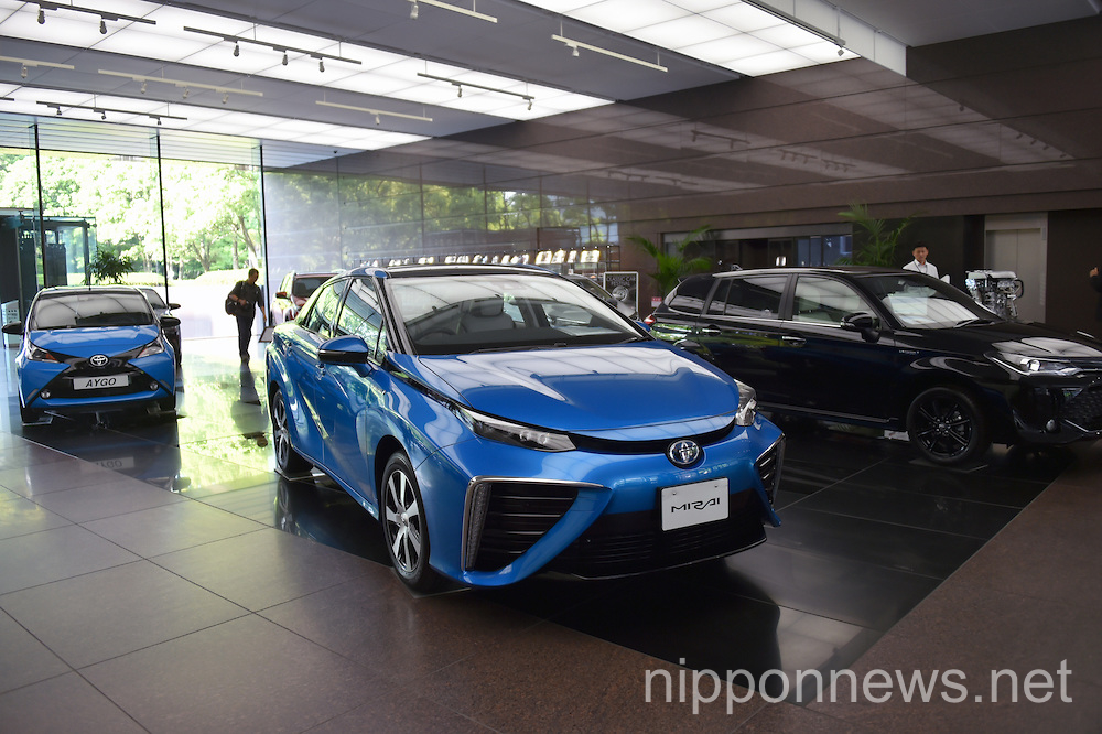 Toyota president press conference